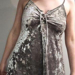 *SOLD* Forever 21 Velour Dress
